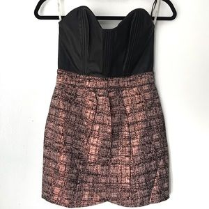 Lovers+Friends Faux Leather Mini Dress